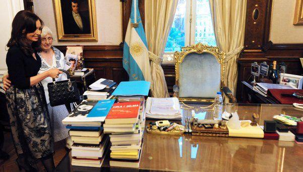 Cristina defendió a su madre y cargó contra Mauricio Macri