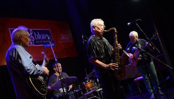 El jazz moderno copó el escenario del museo