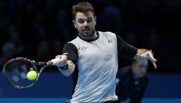 Wawrinka limpió del Masters a Cilic, rival de Argentina en la Davis