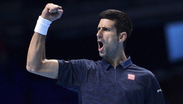 Djokovic avanzó a la siguiente ronda del Masters con puntaje ideal