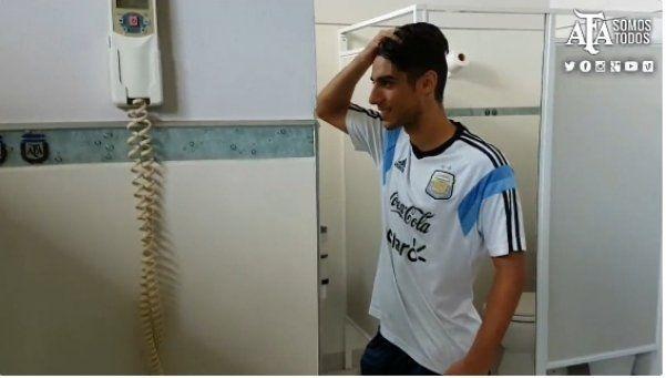 El increíble Mannequin Challenge de la Selección Argentina