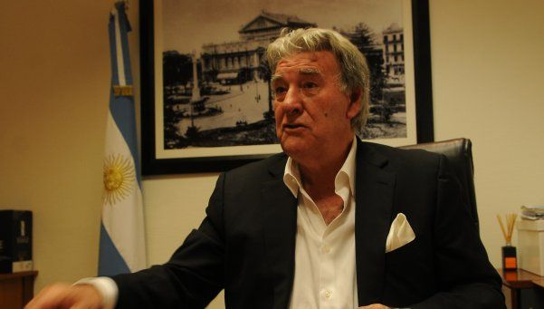 """Armando Pérez: """"Comparto una visión de Grondona, los dirigentes son muy difíciles"""""""