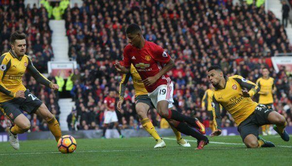 Premier League: Arsenal le ahogó el festejo al United en el final