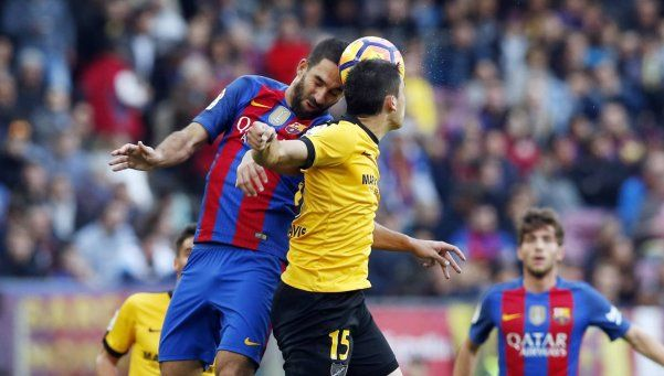 Barcelona, sin Messi, no pudo con el Málaga en el Camp Nou