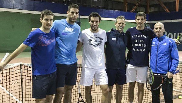 Argentina ya está en Zagreb a la espera de la gran final de la Davis