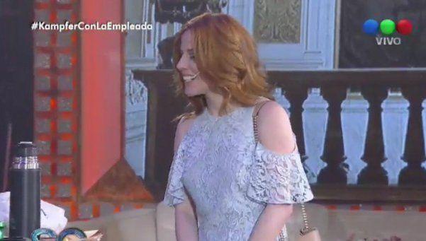 Agustina Kampfer y su chiste a Susana: ¿nace una amistad?