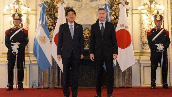 """Macri: """"Es muy importante la apuesta de Japón en Argentina"""""""
