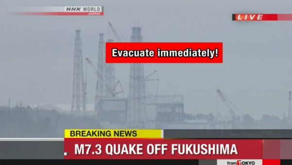 Sismo y alerta de tsunami asustó a todo Japón