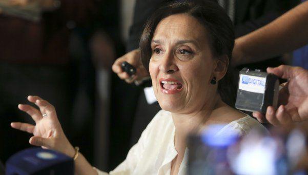"""Michetti sobre el pedido de indagatoria: """"Estoy súper tranquila"""""""