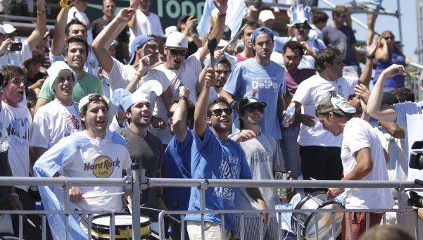 Unos 2 mil hinchas argentinos estarán en la final de la Davis