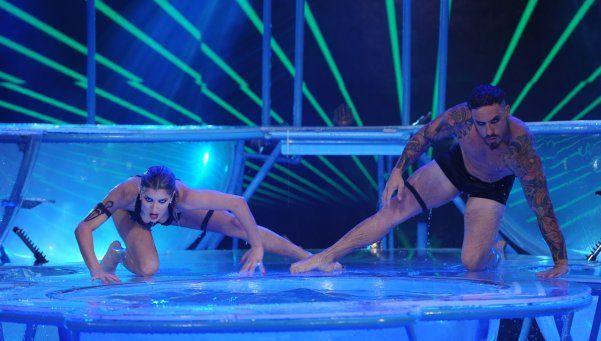 Puntaje perfecto para Fede y Laurita en el Aquadance