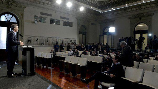 Quieren cerrar la sala de prensa de Casa Rosada y hay revuelo