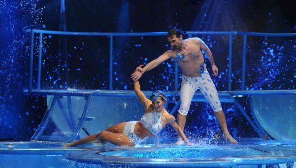 Aquadance en Bailando: Peter no convenció al jurado