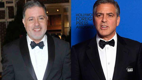 ¿Separados al nacer? Doman se comparó con George Clooney