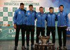 El apoyo del mundo del tenis al equipo argentino