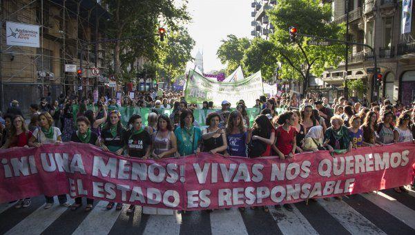 Marcharon por el Día Internacional contra la Violencia de género