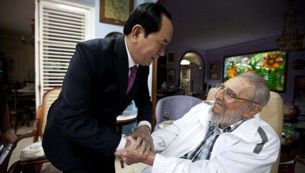 La última aparición en público de Fidel Castro