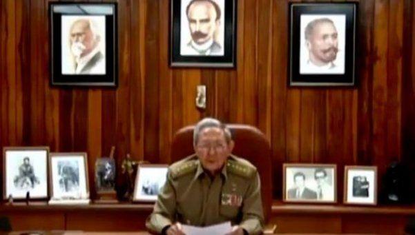 Video | Así fue el anuncio del fallecimiento de Fidel Castro