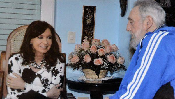 El mensaje de Cristina por la muerte de Fidel Castro