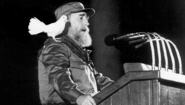 En el cine, Fidel también resultó ser un gran protagonista