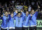 Copa Davis: el campeón enfrentará a Italia en Parque Sarmiento