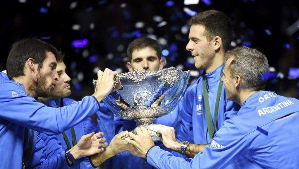 Histórico: Argentina campeón de la Copa Davis por primera vez