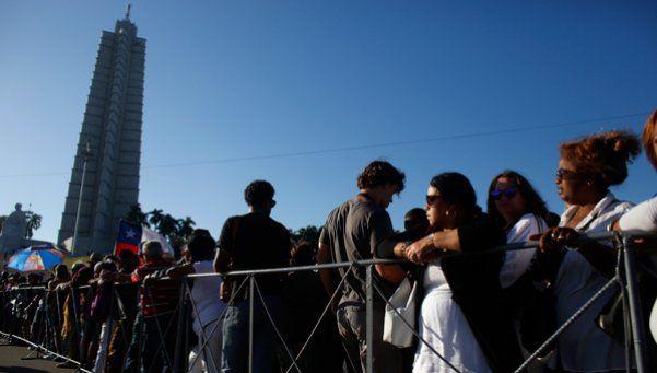 Funerales de Fidel Castro: el juramento que hacen miles de cubanos