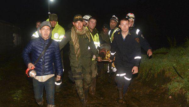 Chapecoense: retomaron las tareas de rescate