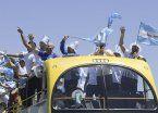 Davis: uno a uno, cómo siguen los festejos de los campeones