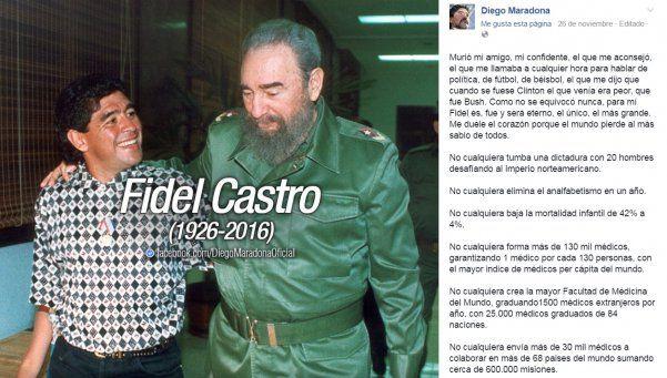 Exclusivo | Diego viaja a Cuba para despedir a Fidel Castro