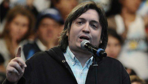 Máximo Kirchner se despachó con sorpresivos elogios