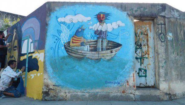 Ciclo de murales en La Tablada