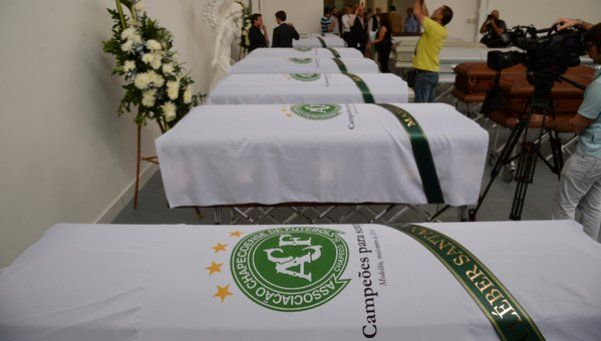 El funeral colectivo de Chapecoense se pasó para el sábado