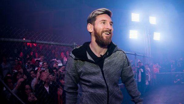 Messi también bate varios records en Instagram