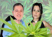 Dura pelea en vivo de Doman y Úrsula Vargues por la marihuana