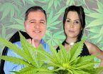 Estalló fuerte en la televisión la guerra de la marihuana