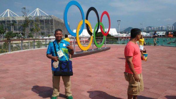 El silencioso matancero que estuvo en los Juegos de Río