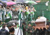 Chapecó despidió a sus héroes en un funeral multitudinario