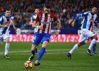 Atlético de Madrid no tuvo gol y dejó pasar una buena chance