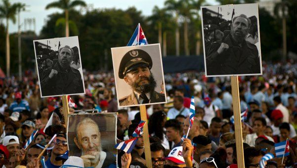 Cuba le dio el último adiós a Fidel: inhumaron sus restos en ceremonia íntima