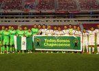 Independiente y River dieron un paso más en el tributo a las víctimas