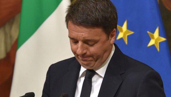 Hasta acá llegué: Renzi renuncia tras perder el referéndum en Italia