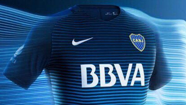 Boca presentó una nueva camiseta alternativa
