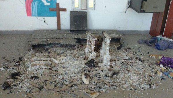 Indignante ataque en el cementerio municipal de Florencio Varela