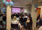 Campaña de concientización sobre el cáncer de mama en el Gandulfo