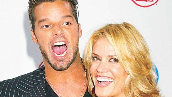 Una ex novia de Ricky Martin confesó que perdieron un bebé