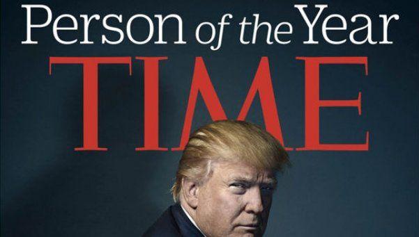 Donald Trump, elegido personaje del año por la revista Time