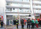 Video | Impactante rescate de un bebé en un incendio en Palermo