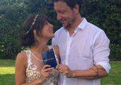 Nico Vázquez y Gimena Accardi ya son marido y mujer
