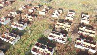 Constatan con drones cómo avanzan planes de vivienda